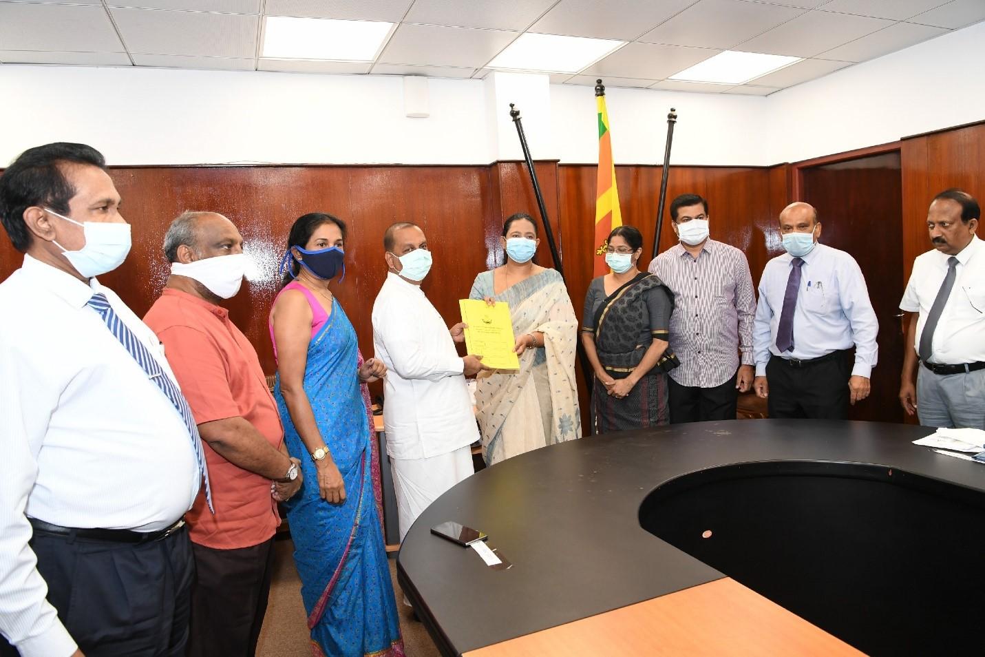 LKR 23 million worth IAEA's donation, COVID-19 identification systems handed over to Sri Lanka Ministry of Health