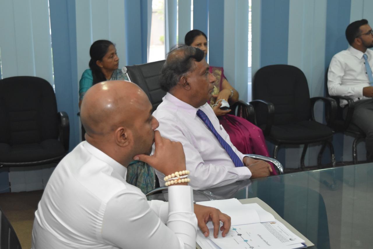 Hon. State Minister's Visit on 18.08.2020
